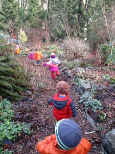At a Waldorf-inspired preschool we explore nature